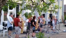Happy Friday mit der Brassband